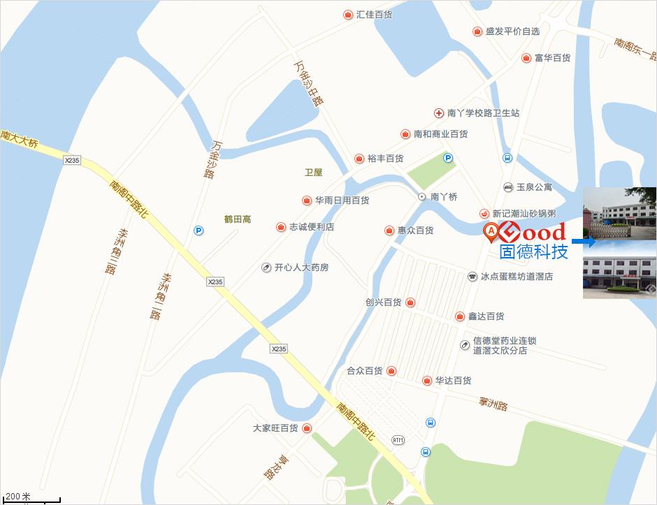 固德科技地图